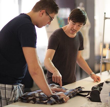In our fashion design program, you'll begin by learning product sketching, patternmaking, choosing fabrics, and using commercial patterns.