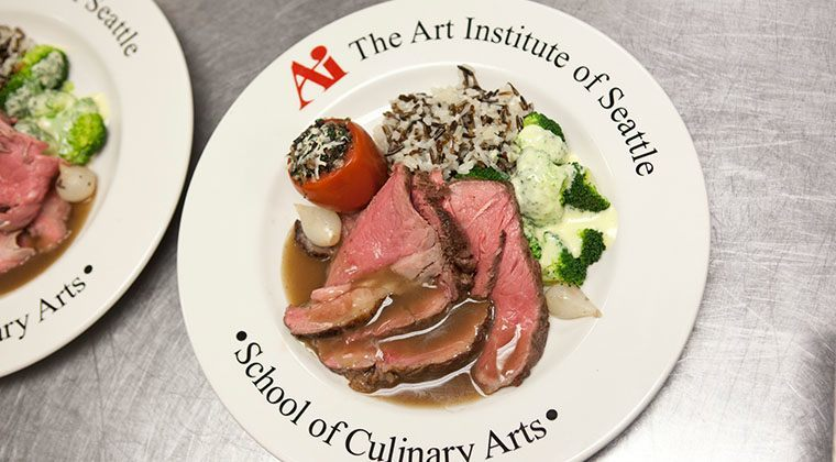 Culinary students learn everything from knife skills to the art of beautifully presenting a finished product.