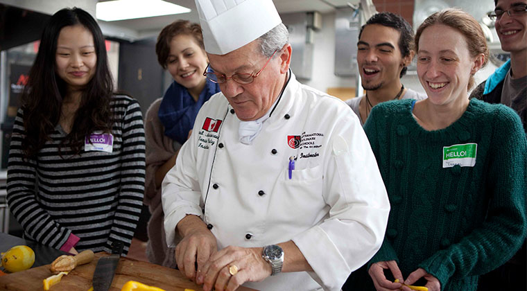 Our culinary faculty have industry experience that they bring into the professional kitchens at our school.