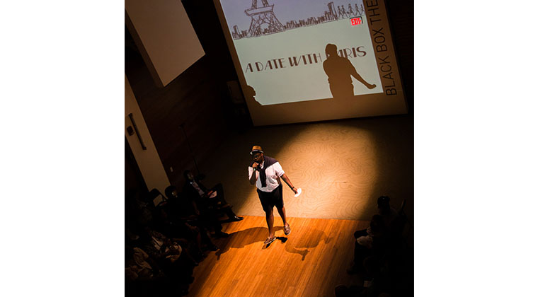"Our annual fashion show entitled ""A Date with Paris"" drew an enthusiastic crowd."