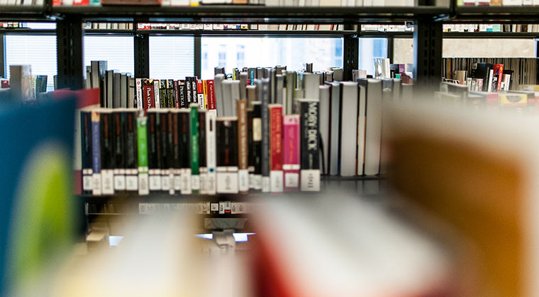 The Library is stocked with thousands of books and magazines that support all of our programs. It is also home to a computer lab, study space, and the peer tutoring program.